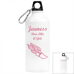 Jeuness Run Like A Girl Water Bottle (Kaylah Hill)