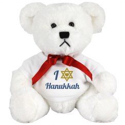 I Love Hanukkah Bear