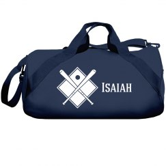 Isaiah's Baseball Bag