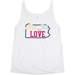 PA PROUD- flowy tank for beer pong ;)