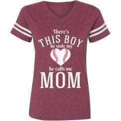 Baseball Mom's Fandom Tee