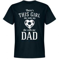 Soccer Dad's Stolen Heart Shirt