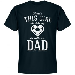 Soccer Dad's Stolen Heart Shirt