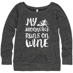 Broomstick Runs On Wine