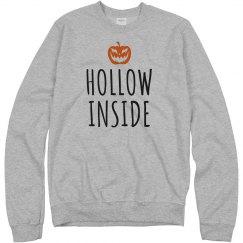 Hollow Inside Pumkin Pun