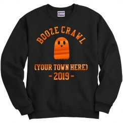 Custom City Name Booze Crawl