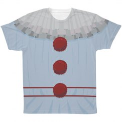 Creepy Clown Outfit Costume Tee