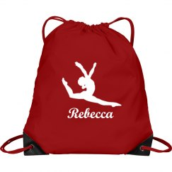 Gymnastics Drawstring Bag