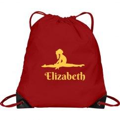 Gymnastics Drawstring Bag
