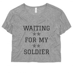 Cute Waiting For My Soldier