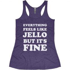 Feels Like Jello Funny Workout