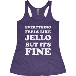 Feels Like Jello Funny Workout