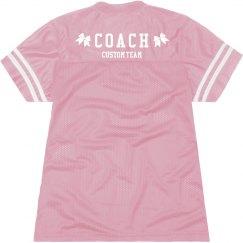 Custom Cheer Coach Slub Jersey