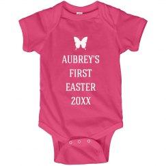 First Easter Baby Aubrey
