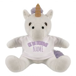 My 1st Birthday Custom Unicorn