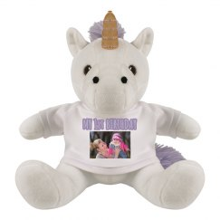 Custom Photo 1st Birthday Unicorn Gift