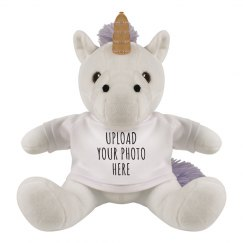 Upload A Custom Photo Unicorn Gift