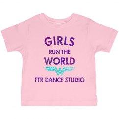 Toddler Girls Run the World