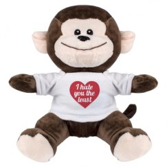 8 Inch Monkey Stuffed Animal