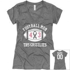 Pink Football Mom