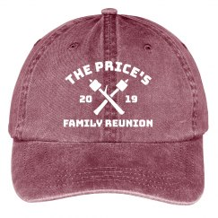 Custom Family Name Family Reunion Group Hats