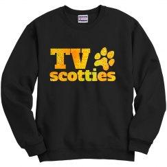TV Glitter Sweatshirt