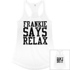 Frankie Says Relax Worn