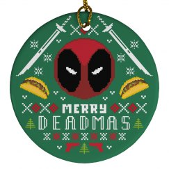 A Merry Deadmas Ornament