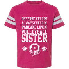 Volleyball Cheerin' Sister