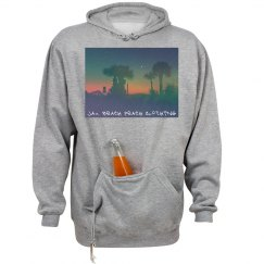 Moon palm trees sweatshirt