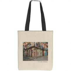 Corner in La Habana (tote bag)