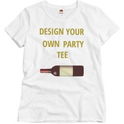 Design Your Own Party Tee