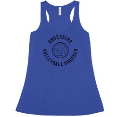 Obsessive Volleyball Disorder Tank