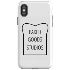IPhone X Tough Baked Goods Phone Case