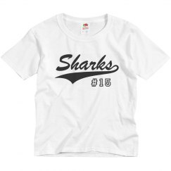 Youth Dry Fit - Sharks