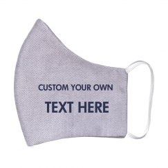 CUSTOMIZE YOUR OWN 2 PLY COTTON PREMIUM MASK