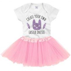 Custom Bunny Easter Onesie
