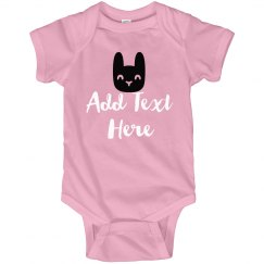 Easter Custom Bunny Bodysuit