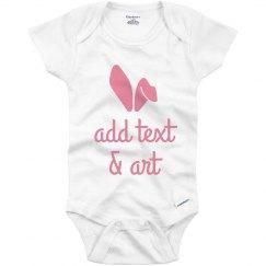Custom Easter Baby Onesie