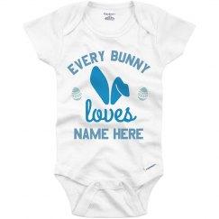 Custom Baby's First Easter Onesie