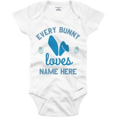 Custom Baby's First Easter Bodysuit