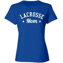 Cute Lacrosse Mom