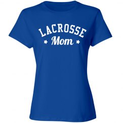Cute Lacrosse Mom
