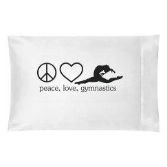 Gymnastics pillowcase