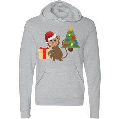 santa claus monkey emoji