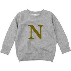 N initial sweater