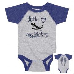 Infants Little Ass Kicker Vintage Onesie