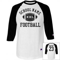 Trendy Custom Football Dad Shirts and Jerseys