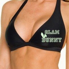 Glow Bunny ear GB Bikini Top