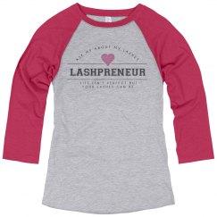 Lashpreneur Varsity Shirt